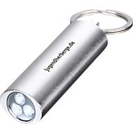 Taschenlampe Little Lightening, mit 3 LEDs, silber/metallic