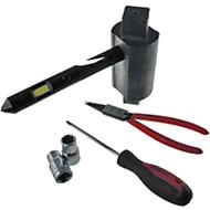Taschenlampe Metmaxx® COBSecurity, COB Flutlicht, multifunktional, Lasergravur o. Tampondruck 1-farbig 40 x 10 mm