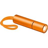 Taschenlampe Mini glow, mit heller LED Lampe, orange