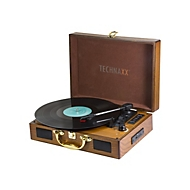 Technaxx TX-101 - Plattenspieler mit Digital-Recorder