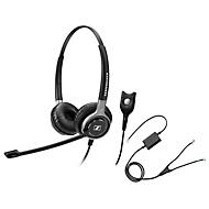 Telefon-Headset Sennheiser SC 660, kabelgebunden, binaural, HD, Ohrpolster, + Adapter CEHS-AV04