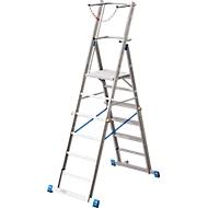 Teleskop-Plattformleiter Krause, 6-8 Sprossen