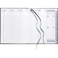 Terminplaner Profi-Timer - Clubline, schwarz, deutsches Kalendarium