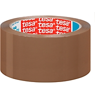 tesa® rubans d'emballage universels, 50 mm x 66 m, brun, 36 rouleaux
