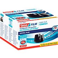 tesafilm® Tischabroller Easy Cut Compact, schwarz