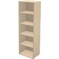 TETRIS WALL boekenkast, spaanplaat, 5 OH, B 600 x D 440 x H 1880 mm, ahorndecor