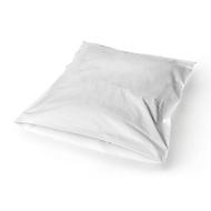 Textiele verzendenveloppen van PE, 34 x 42 cm, 50 µ, wit