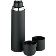 Thermokanne Duo Cup Design, schwarz