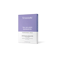 TimeMoto Cloud uitbreidingspakket TM 100, Licentie voor 100 gebruikers, geldigheidsduur 1 jaar