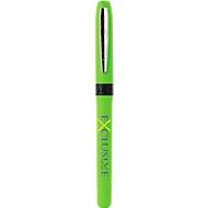 Tintenroller Bic® Grip, strukturierte Griffzone, inkl. einfarbige Werbeanbringung, grün