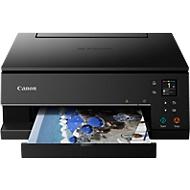Tintenstrahl-Multifunktionsdrucker Canon PIXMA TS6350, 3 in 1, Duplex/Mobildruck, OLED-Display, USB/Bluetooth/Wi-Fi, bis A4, schwarz