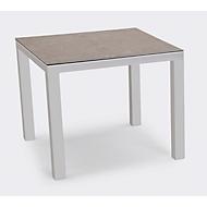 Tisch Houston, Aluminium, rechteckig, B900 x T900 mm, silber