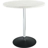 Tisch Lena, H 760 x Ø 800 mm, Vintage grau