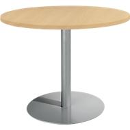 Tisch mit Tellerfuß, ø 1000 x H 717 mm, Buche