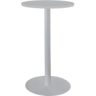 Tisch mit Tellerfuß, ø 700 x H 1087 mm, lichtgrau
