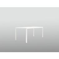 Tisch Newtown, B 2000 x T 800 x H 750 mm, weiß