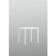 Tisch Newtown, B 700 x T 700 x H 750 mm, weiß
