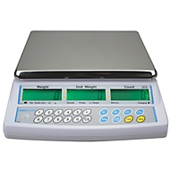 Tisch-Zähl-Waage Serie CBC, mit programmierbarer Displaybeleuchtung, Zähloptimierung, Kapazität 3 kg