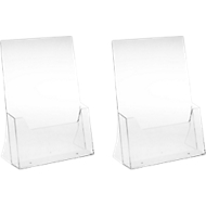 Tischaufsteller, Polystyrol, für DIN A4, 2 Stück