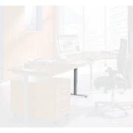 Tischfuß, verkürzt, aus Stahl, passend zum Tischsystem MODENA FLEX (C-Fuß/T-Fuß-Gestell)