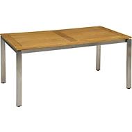 Tischplatte 160 x 90 cm Teak FSC®-zertifiz