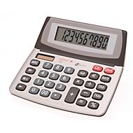 Tischrechner Genie 550 TE, mit 10-stelligem Jumbo-Display, Solar- & Batteriebetrieb