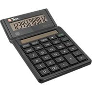 Tischrechner Twen Eco 12, solarbetrieben, 12-stelliges Display, EK-, VK- & Margenberechnung