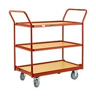 Tischwagen mit 3 Etagen, 1086 x 500 x 1032 mm
