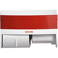 Toiletpapierdispenser, rood