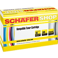 Toner SCHAEFER SHOP compatible HP CE505X, noir