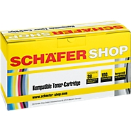Toner SCHAEFER SHOP compatible Kyocera TK-140, noir