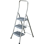 Toppy XL Klapptritt, aluminium, 3 Stufen