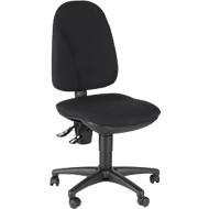 Topstar Bürostuhl POINT 300, Permanentkontakt, ohne Armlehnen, Lendenwirbelstütze, schwarz
