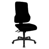 Topstar Bürostuhl TOP POINT, Synchronmechanik, ohne Armlehnen, hohe ergonomische Rückenlehne, schwarz