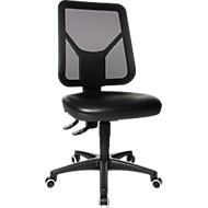 Topstar werkstoel TEC 80 PK met wielen, zwart