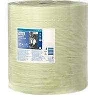 TORK® Advanced 430 industriële papieren poetsdoek, 340 x 370 mm, groen, 1 rol