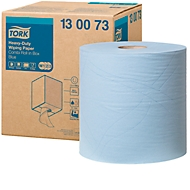 TORK® Advanced 430 multipurpose papieren poetsdoek, 2-laags, 260 x 340 mm, extra sterk, blauw, 1 rol
