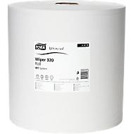 TORK® standaard papieren poetsdoek 320, 370 x 340 mm, 1 rol