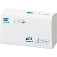 TORK® Xpress Interfold handdoek Universal, 2-laags, 213 x 235 mm, 4740 vellenwit