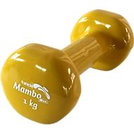 Trainingshanteln, 1 kg, gelb
