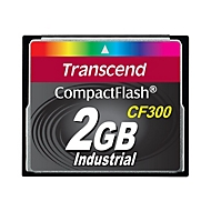 Transcend CF300 Industrial - Flash-Speicherkarte - 2 GB - CompactFlash