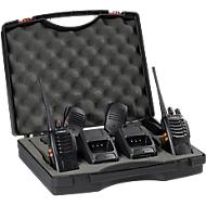 Transmetteur Tectalk Worker 2 p. en mallette