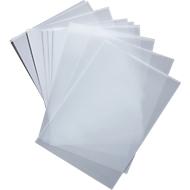 Transparante beletteringsfolie voor deurbord box, 10 stuks