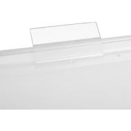 Transparante ruiters voor PP hangmappen, 10 st.