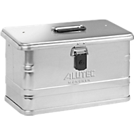 Transportbox, Aluminium, ohne Stapelecken, 29 l