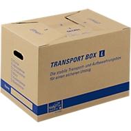 Transportdozen van dubbele golfkarton, maat L, 10 stuks