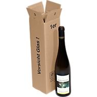 Transportdozen voor wijnflessen, per stuk, 20 st.