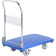 Transportwagen, met inklapbare duwbeugel