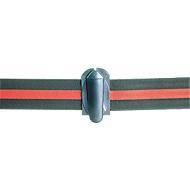 Trekbandverbinding voor afzetpaal met trekband, zwart