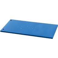 Trennstreifen-Folien, Polypropylen, unifarben, 100 Stück, blau